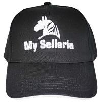 CLASSIC STYLE REITMÜTZE MIT MY SELLERIA-STICKEREI - 0011