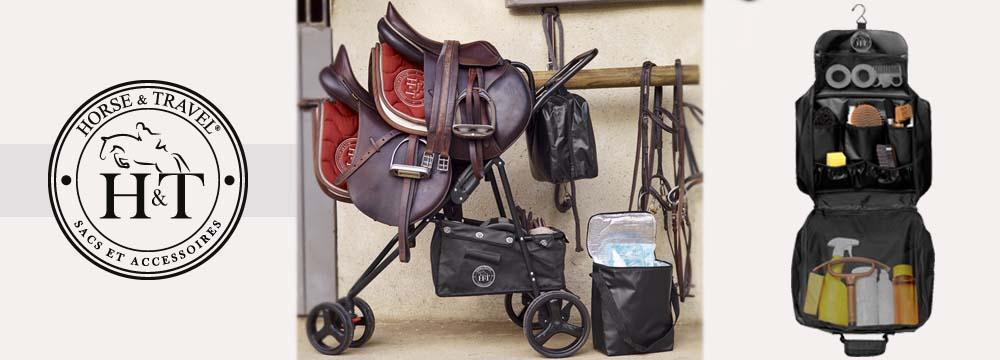 Saddle Sherpa, der Trolley für Doppelsattel und Pferdeubehör!