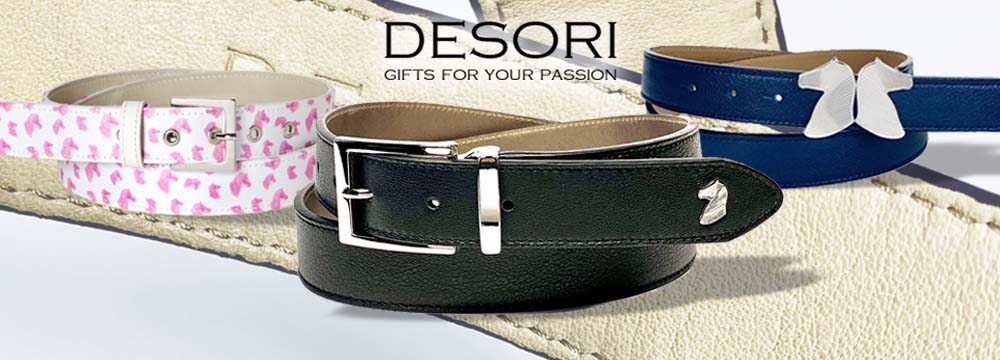 Desori Handcraft Reitgürtel, 100% Made in Venice