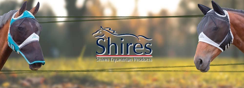 SHIRES Masken: Es ist Zeit, Ihr Pferd vor Insekten zu schützen!