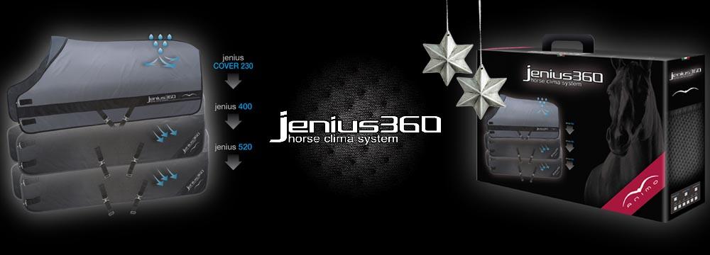 Stalldecke Jenius360 Animo - Horse Clima System